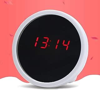 ekqw015l Fashion Clock for Home Living Room Bedroom Decor & Mini Desktop Digital Clock LED Display Mirror Electronic Noiseless Table Alarm