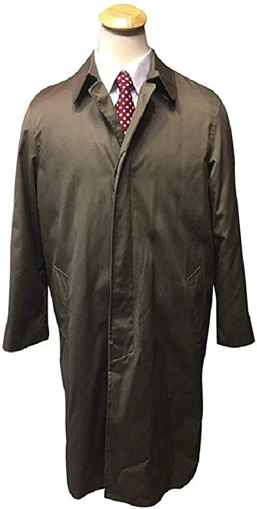 Big and Tall Classic All Season Raincoat to Size 60 with Removable Lining