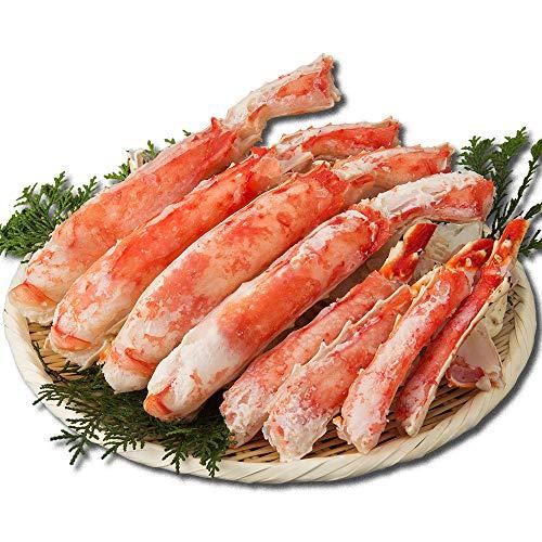 タラバガニ カット済み ハーフポーション 工場直売の本たらば【蟹卸直売店 カニ工場】 (ボイル1.3kg(総重量1.5kg))