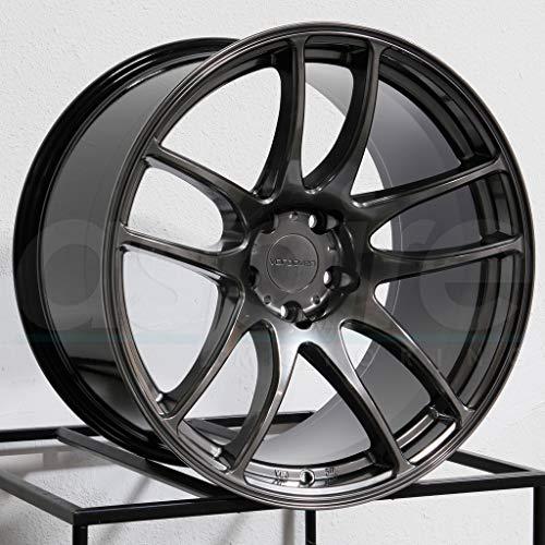 18x9.5 Vordoven Forme 9 5x114.3 12 Hyper Black Wheel Rim 73.1