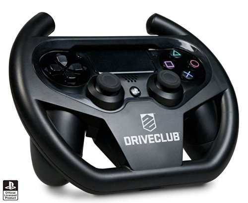4Gamers Driveclub Compact Racing Wheel - Volante Compatible con Sony Playstation 4