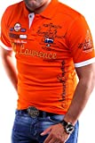MT Styles Poloshirt Lawrence T-Shirt MP-301 [Orange, M]