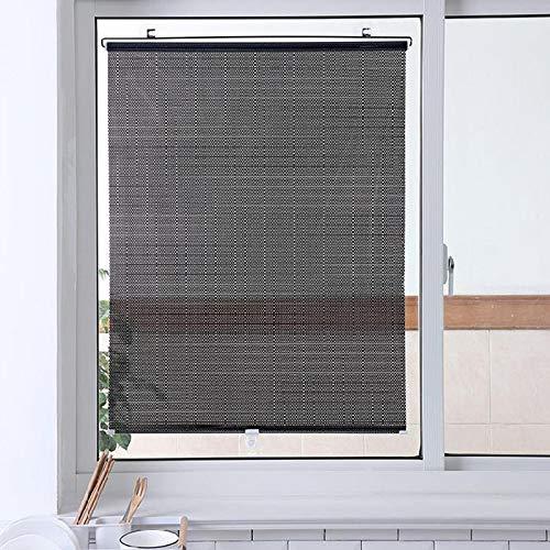 Aemiy Parasol de ventana para el hogar, ventosa para ventana, sin perforación, para coche, hogar, baño, etc