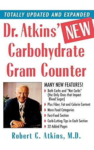 Compare Textbook Prices for Dr. Atkins' New Carbohydrate Gram Counter Revised Edition ISBN 9780871318152 by Atkins  M.D., Robert C.