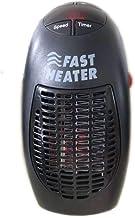 EMGOD Oficina pequeña Estufa eléctrica, Calentamiento rápido de 400 W con función de temporización de visualización de Temperatura para la Oficina Sala de Estar