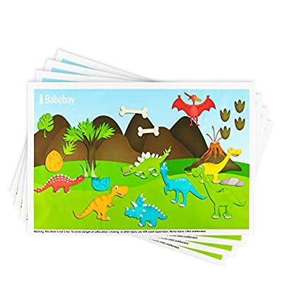 Disposable Placemats Stick-on for Baby  Kids Ta...