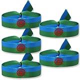 Pulsera gitana Pack (x4) Pulsera bandera gitana Pulsera Orgullo personal Pulsera gitano de tela