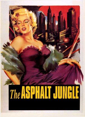 empireposter - Asphalt Jungle - Monroe - Größe (cm), ca. 68x99 - Poster, NEU - Beschreibung: - Filmposter Kino Movie XXL-Poster -