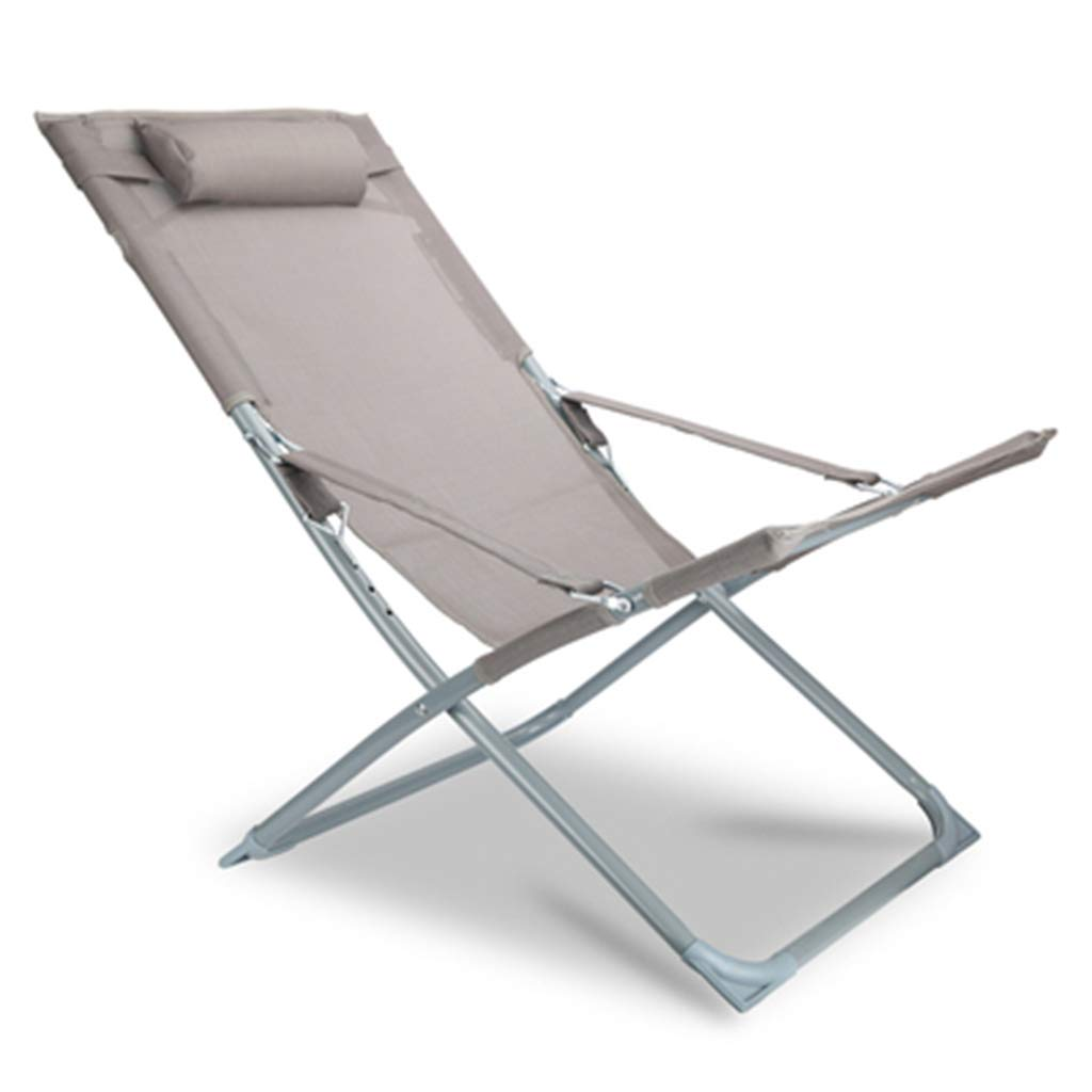 Tumbonas Tumbona Silla para Acampar Silla reclinable para jardín Sillón reclinable para relajación Ajustable Asiento Plegable con reposacabezas para Sentarse y acostarse en la Playa al Aire Libre Us: Amazon.es: Hogar