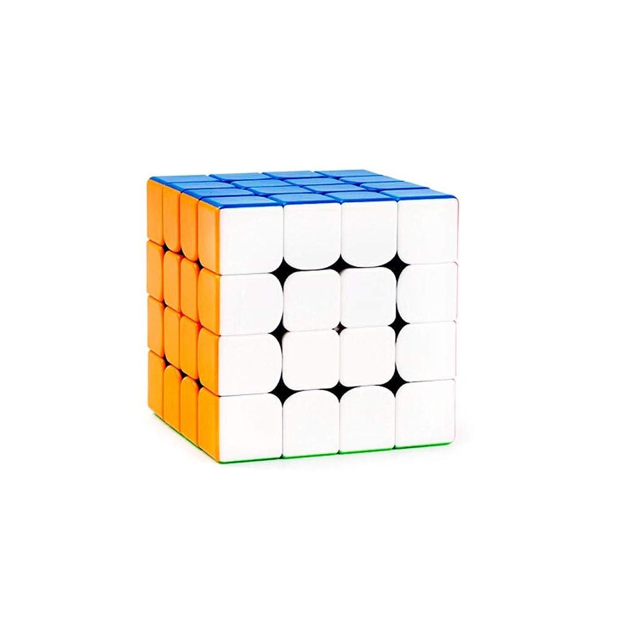 ピュー非常に怒っています予測子Youshangshipin ルービックキューブ、ルービックキューブを平滑化するカラーフルライトパッチバージョン、ゲームのマジックキューブとしても使用可能、快適に使用可能(3次/ 4次) 良い材料 (Edition : Fourth order)