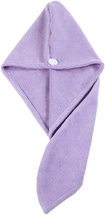 Max 46% OFF YuanLife Dry Hair Surprise price Cap Quick-Drying Towel Adult Shower Microf