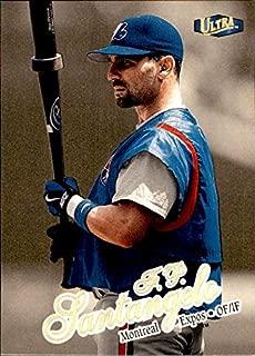 1998 Fleer Ultra GOLD MEDALLION #267 F.P. Santangelo MONTREAL EXPOS NATIONALS ANALYST MLB Baseball Card
