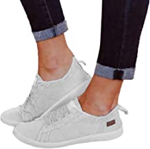 $20 » LowProfile Women's Fashion Soft Shoes Casual Canvas Loafers Slip On Flats Round Toe Moccasins Breathable Driving Shoes