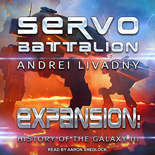 Servobattalion audiobook cover art