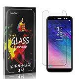 Conber [4 Stück] Bildschirmschutzfolie kompatibel mit Samsung Galaxy A6 2018, Panzerglas Schutzfolie für Samsung Galaxy A6 2018 [Hüllenfre&lich][9H Festigkeit]