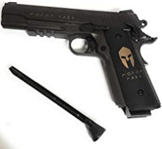 Spartan Sig Sauer 1911 CO2 BB-Gun AIR KIT Extra Magazines, 5 Count C02 cylinders BBS Included