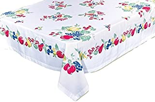 Vintage-Style Fruit Tablecloth, 52