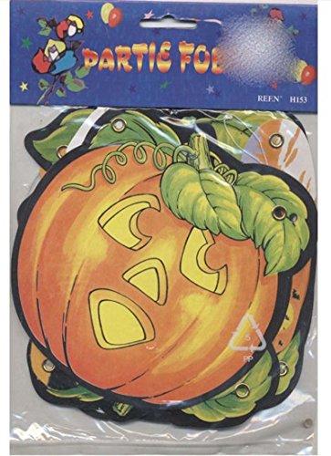 Sandy Décoration Guirlande de Citrouilles Halloween Decoration