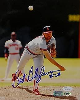 Bert Blyleven Autographed California Angels 8x10 Front View Photo- JSA W Auth