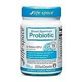 Life-Space Premium Broad Spectrum Probiotics Supplement for Adults, 4 Billion CFU Lactobacillus Rhamnosus(LGG) for Digestive and Immune Support, 32 Billion CFU, 2 Months Serving - 60 Capsules