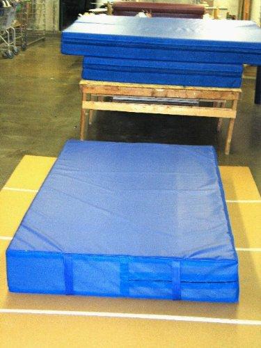 Blue 4'x8'x8' Landing Mat Gymnastics