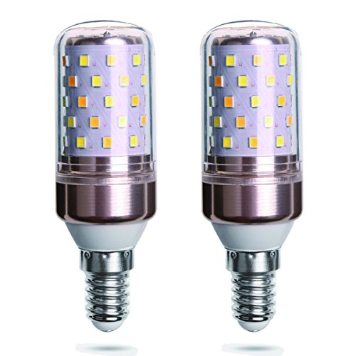 LED Glühbirne 12W / Ersetzt 80w / E14-Sockel / 823 Lumen / 6000 Kelvin Kaltweiß - 2er-Pack