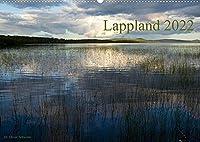 Lappland 2022 (Wandkalender 2022 DIN A2 quer): Impressionen aus Lappland im Wandel der Jahreszeiten (Monatskalender, 14 Seiten )