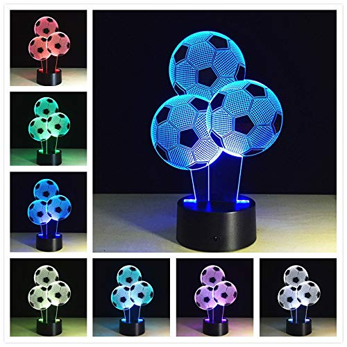 Only 1 Piece Buddha 7 Color Changing Night Lamp 3D Bulbing Light Heart Visual Illusion LED for Kids Toy Christmas Gifts Night Light