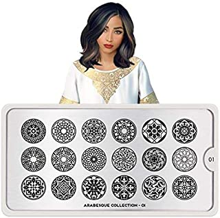 MoYou-London Nail Stamping Plate Arabesque Collections US Stock (01)