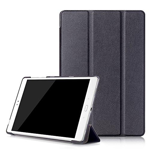 """Awenroy Hülle für ASUS ZenPad 3S 10 Z500M Ultra dünn Smart Magnetische Abdeckung Hochwertiges PU mit Standfunktion Perfekt Geeignet für ASUS ZenPad 3S 10 (Z500M) 9.7"""" Tablette 2016 Release - Schwarz"""