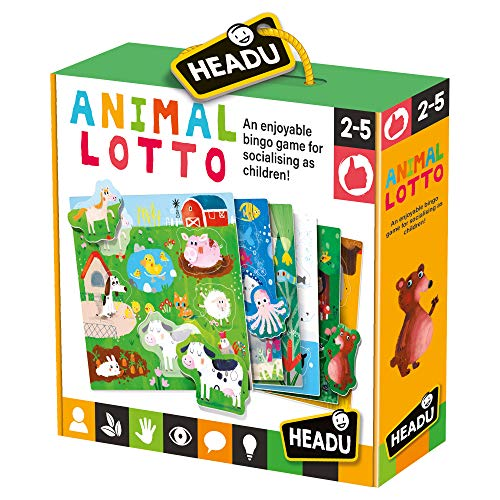 Headu- Bingo Educativo Infantil (MU22847)