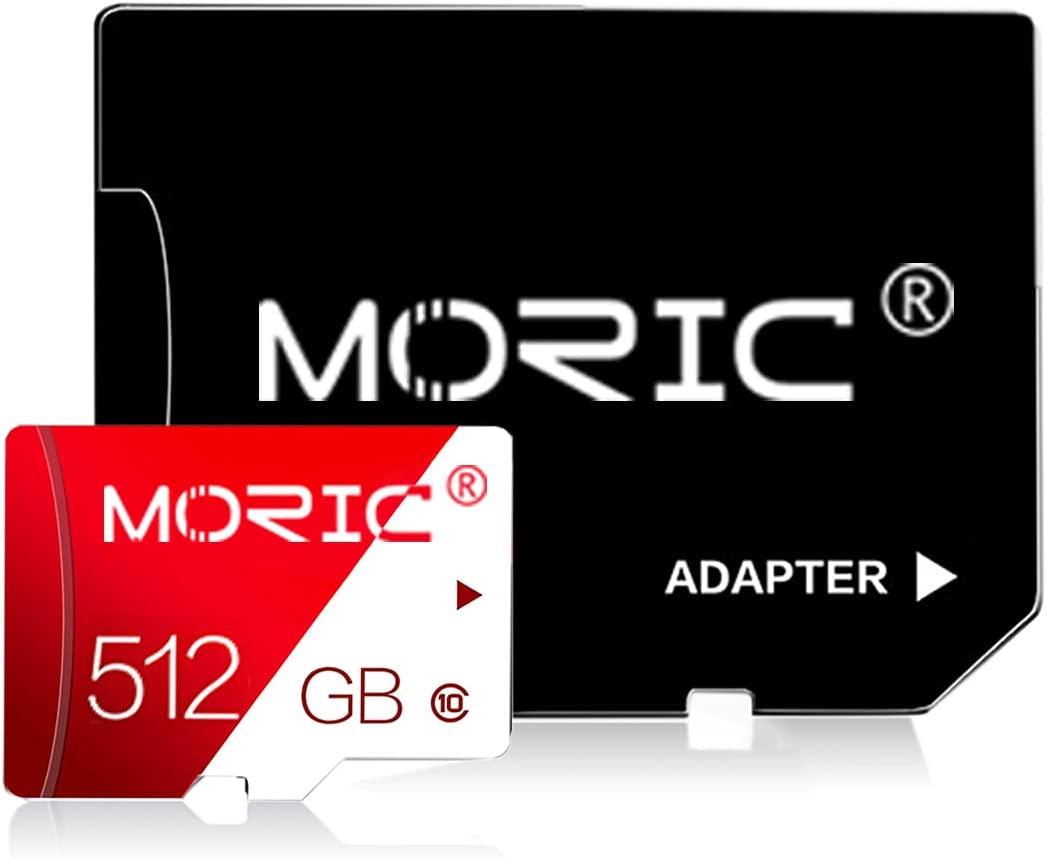 512GB Memory Card Class 10 Card Micro SD Card Compatible Computer Camera and Smartphone Memory Card with SD Card Adapter