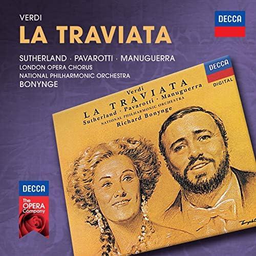 Dame Joan Sutherland, Luciano Pavarotti, Matteo Manuguerra, The London Opera Chorus, The National Philharmonic Orchestra & Richard Bonynge
