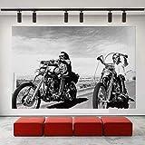 XMYC Leinwand Wandkunst Easy Rider Dennis Hopper Peter