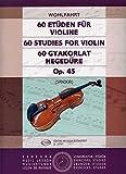 60 Etueden Op 45. Violine