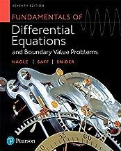 Fundamentals من التفاضلي equations و boundary القيمة مشكلات (إصدار 7)