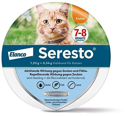 Seresto Halsband für Katzen 1 Stück