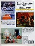 GAZETTE DE L'HOTEL DROUOT (LA) [No 17] du 28/04/1989 - ROBERT RAUSCHENBERG - PIAZZA PLATTER - MAURICE ESTEVE - LA BOUTEILLE JAUNE - FLACONS A PARFUM DE CARON - GABILLA - GERLAIN - HOUBIGANT - CH. DIOR - MYON - E. ARDEN - PATOU - L.T. PIVER - ROGER ET GALLET - BURMAN - BACCARAT