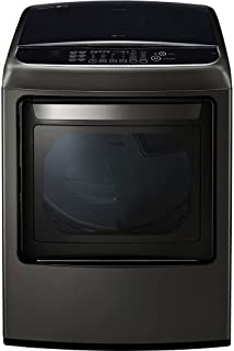 LG DLGY1902KE 7.3 Cu. Ft. Black Stainless Gas Dryer with Steam