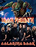 Iron Maiden Coloring Book: Iron Maiden Stunning Coloring Books For Adult 8.5' X 11'