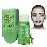 Green Stick Mask, Mascarilla de Limpieza Profunda, Mascarilla en Barra Sólida, Mascarilla...