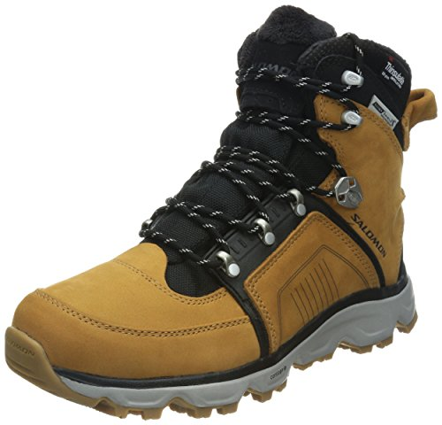 SALOMON Switch 2 TS CS WP Men Größe UK 7,5 Dark Sand F03 - Black - Aluminium