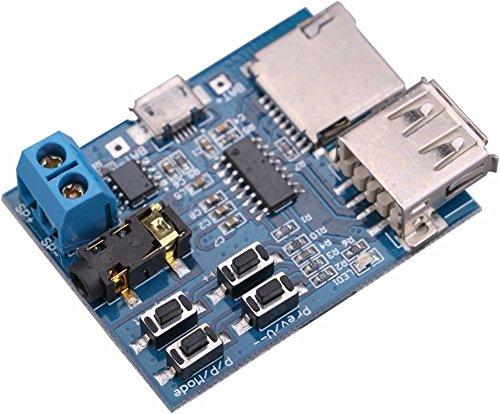 Decoder ontcijferen Vermogen Versterker Speler Phono Audio Module Decoder Board Ondersteuning TF Card USB