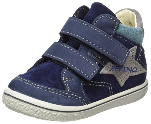RICOSTA Jungen Kimo Hohe Sneaker, Nautic/Graphit, 00023 EU