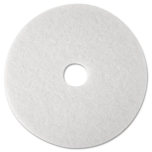 3M White Super Polish Pad 4100, 12 in