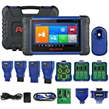 Autel MaxiIM IM508 Automotive Key Programming Scan Tool with XP200 Key Programmer, Car Diagnostic Scanner with OE-Level All System Diagnosis Oil Reset, EPB, SAS, BMS, DPF Services
