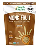 Health Garden Monk Fruit Sweetener, Golden- Non GMO - Gluten Free - Sugar Substitute - Kosher - Keto Friendly (3 lbs)