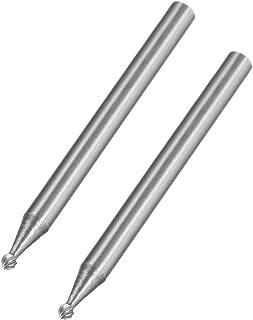 Pack of 1 Shape E SE-6 5//8 Head Diameter 1//4 Shank Diameter 1 Cutting Length Cobra Carbide 10747 Micro Grain Solid Carbide Regular Length Burr Single Cut