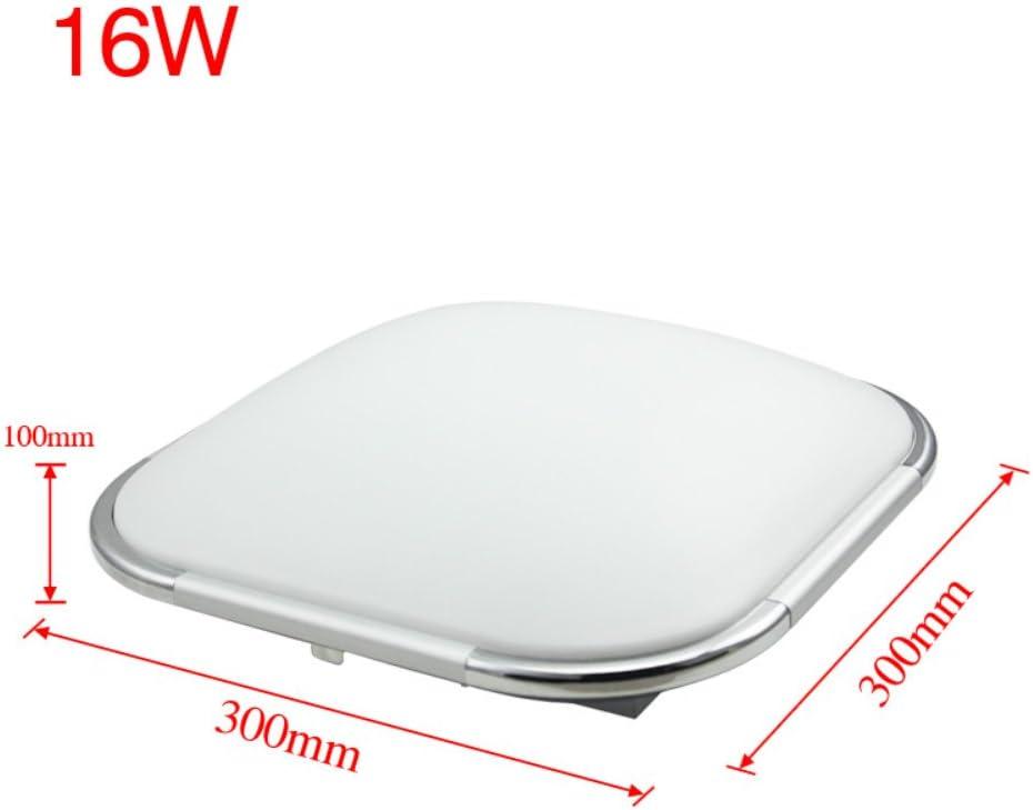 Hengda 64W Weiß LED Deckenleuchte LED Deckenlampe Wohnzimmerlampe für Wohnzimmer Schlafzimmer Küche Flur Anwendungsgebiet 18-40m²[Energieklasse A++] 16w Dimmbar
