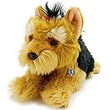 Kuscheltiere*biz Perro de peluche Yorkshire Terrier Perry Yorkie de 37 cm